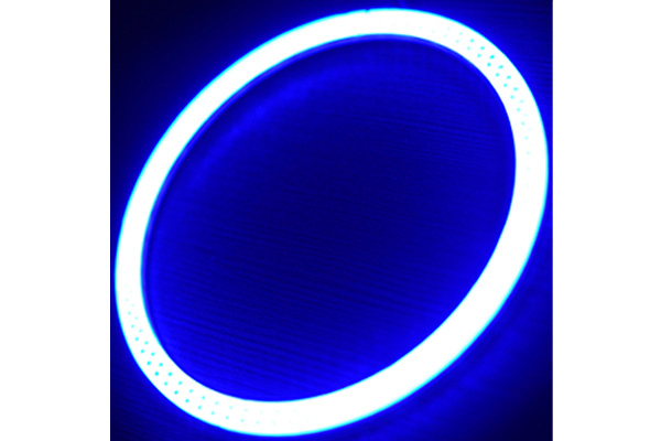 oracle headlight halo kits plasma blue sample