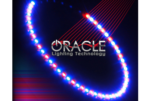 oracle headlight halo kits smd led blue red sample