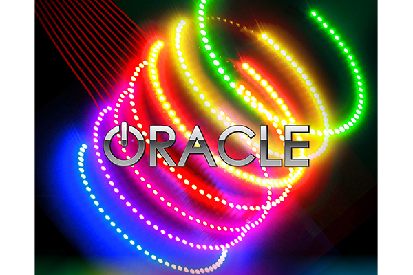 oracle headlight halo kits smd led rgb multi color sample