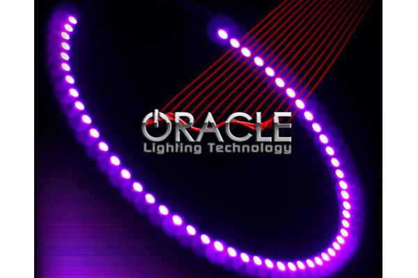 oracle headlight halo kits smd led ultra violet sample