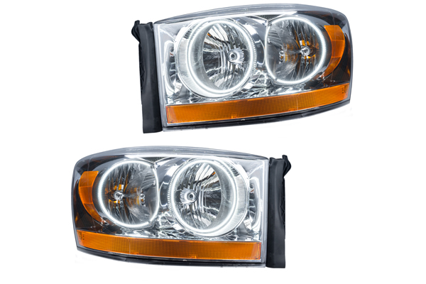 oracle headlights truck suv chrome bezel sample