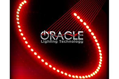 oracle fog light halo kits smd led red sample