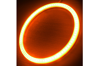oracle headlight halo kits plasma amber sample