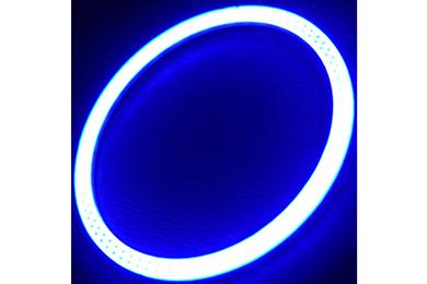 oracle headlight halo kits plasma blue sample