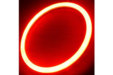 oracle headlight halo kits plasma red sample