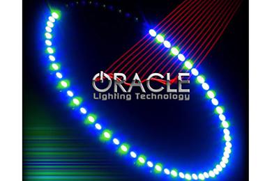oracle headlight halo kits smd led blue green sample