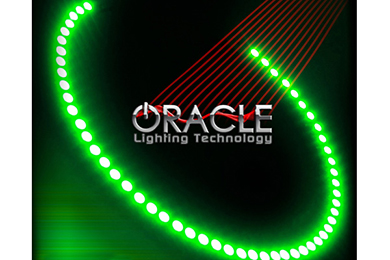 oracle headlight halo kits smd led green sample