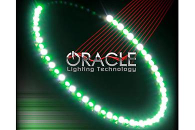 oracle headlight halo kits smd led green white sample
