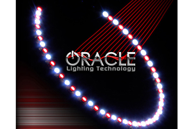 oracle headlight halo kits smd led red white sample