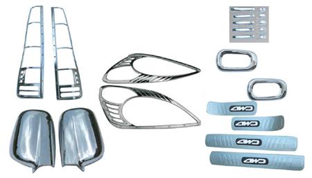wellstar complete chrome package OCP-FS-CR-V-02-04