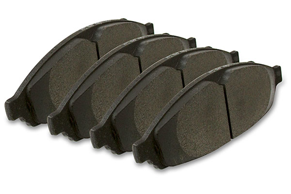 pfc carbon metallic brake pads rear sample