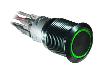 plasmaglow led activator switches black green