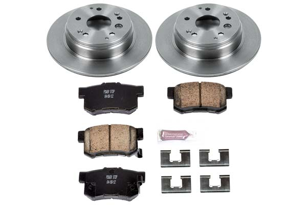 Autospecialty KOE783 1-Click OE Replacement Brake Kit