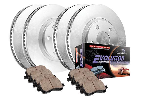 power stop oek ceramic brake 4 wheel