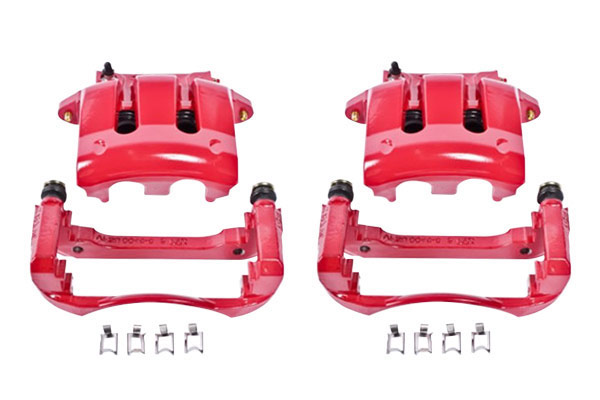 power stop performance brake front calipers sample