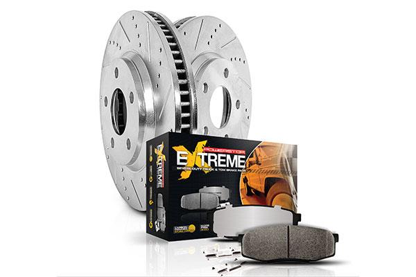 powerstop rear wheel brake kit