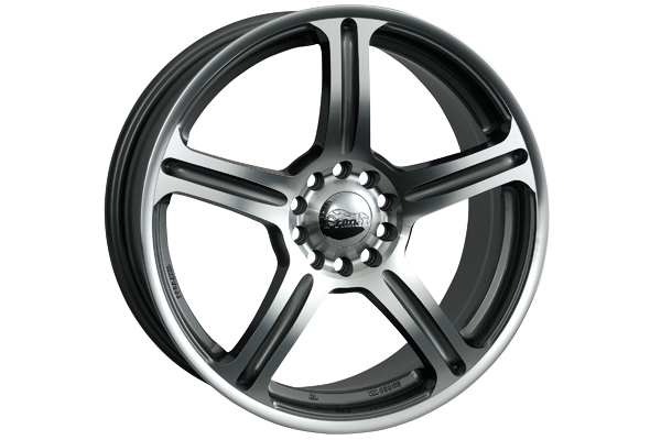 primax 772 wheels gunmetal machined sample