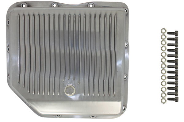 finned aluminum transmission pans 8491AA