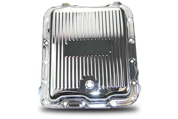 proz chrome steel transmission pans sample