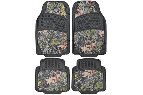 proz timber camo heavy duty floor mats - hd camouflage car mats