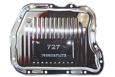 chrome steel transmission pans 7598AA