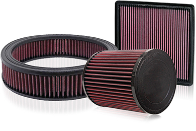 performance air filters sample