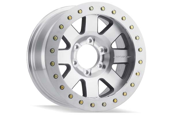 pro comp series 85 vapor pro2 beadlock wheels machined sample