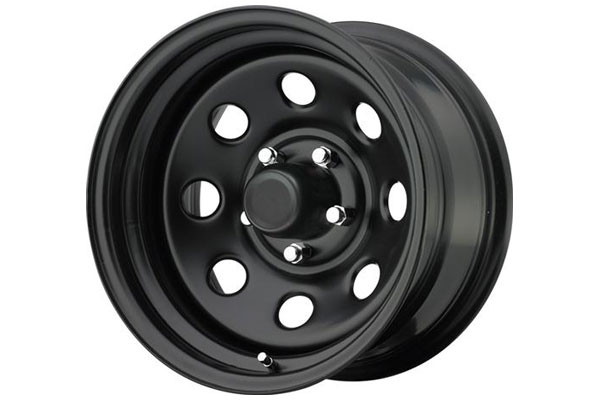 pro comp97 series rock crawler steel wheels matte blk sample