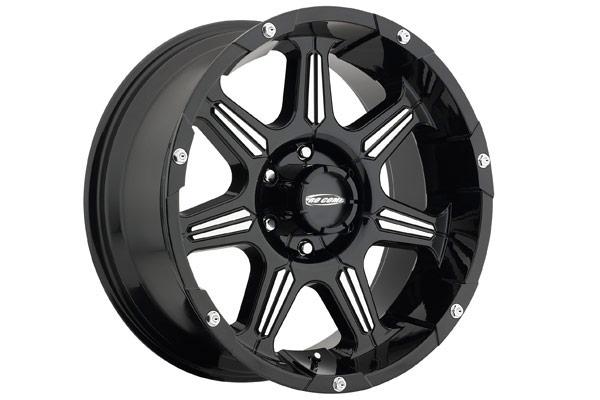 pro comp district 8151 series alloy wheels gloss black sample