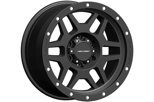 pro comp phaser 41 series alloy wheels satin black sample