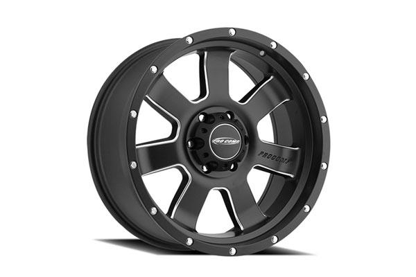 pro comp series39 inertia alloy wheels matteblk machinedaccents sample