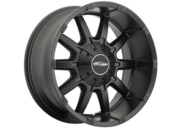 pro comp 10 gauge 5050 series alloy wheels satin black sample