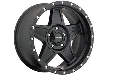 pro comp predator 5035 series alloy wheels satin black sample
