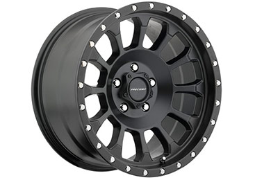 pro comp rockwell 5034 series alloy wheels satin black hero