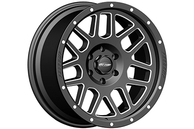 pro comp vertigo 40 series alloy wheels satin black with machined accents sample