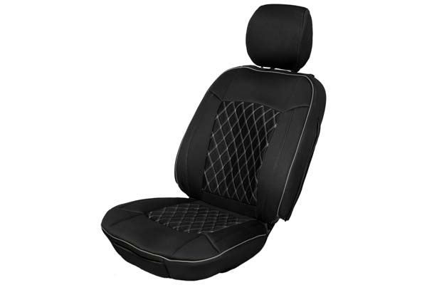 proz neoprene seat covers blk w blk stitching diamond insert sample