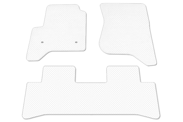 proz premium clear floor mats sample front 2piece rear 1piece