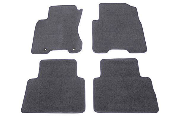 proz premium custom front rear Charcoal floor mat sample