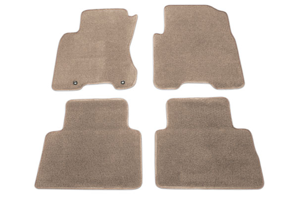 proz premium custom front rear Mocha floor mat sample