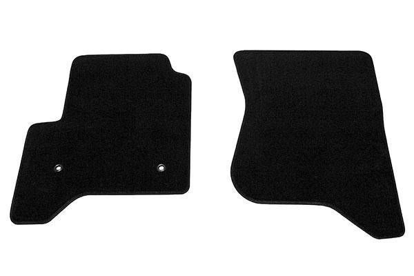 proz premium custom front row Black floor mat sample
