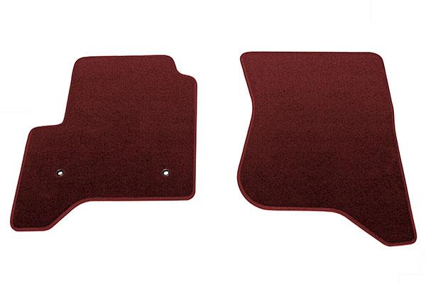 proz premium custom front row Burgundy floor mat sample