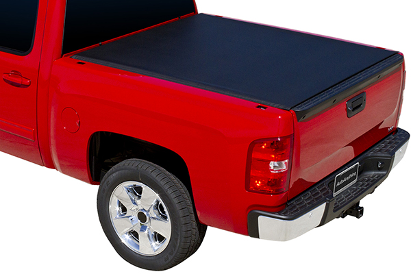 proz premium proroll tonneau cover with truck bed light chevy gmc sample