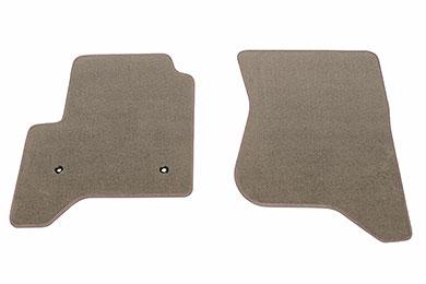 proz premium custom front row Taupe floor mat sample
