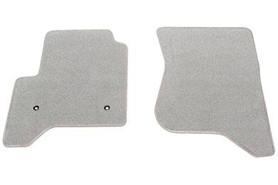 proz premium custom front row silver floor mat sample