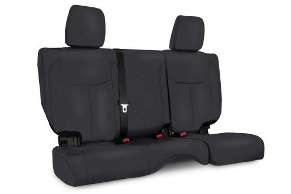 PRP Jeep Wrangler Seat Covers in Black, Rear Seat Covers