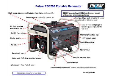 pulsar PG3250 2