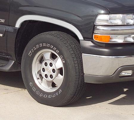 Putco STAINLESS STEEL FENDER TRIM For Chevrolet//GMC 1988-2000 #97101