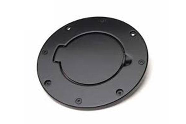 Black Locking Fuel Door