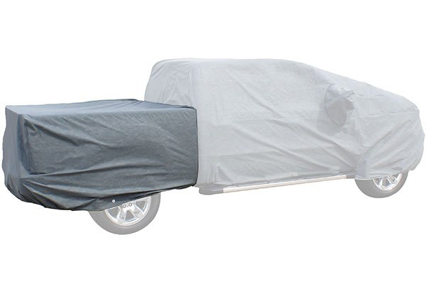 Rampage Products 1330 Universal Easyfit 4-Layer Polypropylene Truck Bed Cover Grey