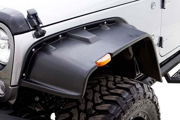 rampage flat style fender flares stainless bolt samle